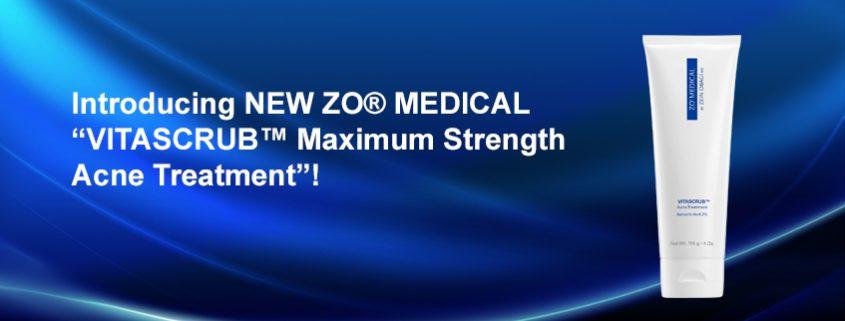 "image of ZO® MEDICAL ""VITASCRUB™ Acne Treatment"